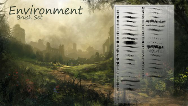 524-environment-brushes