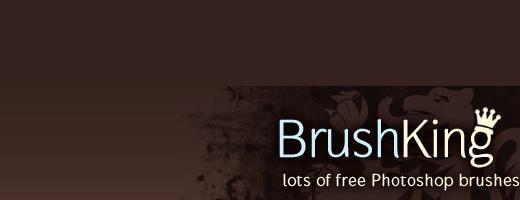 質の高いPhotoshopブラシを無料でダウンロード出来るサイト「BrushKing」