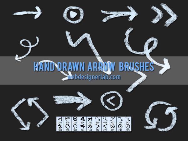 b-hand-drawn-arrows